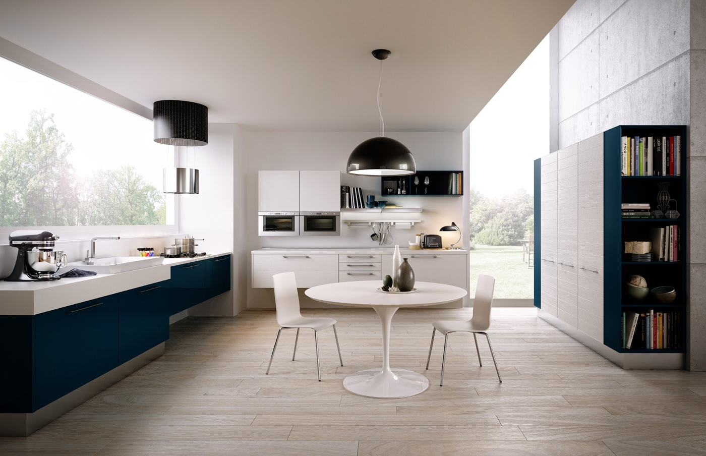 Unexpected twists for modern kitchens for Modern kitchen units designs