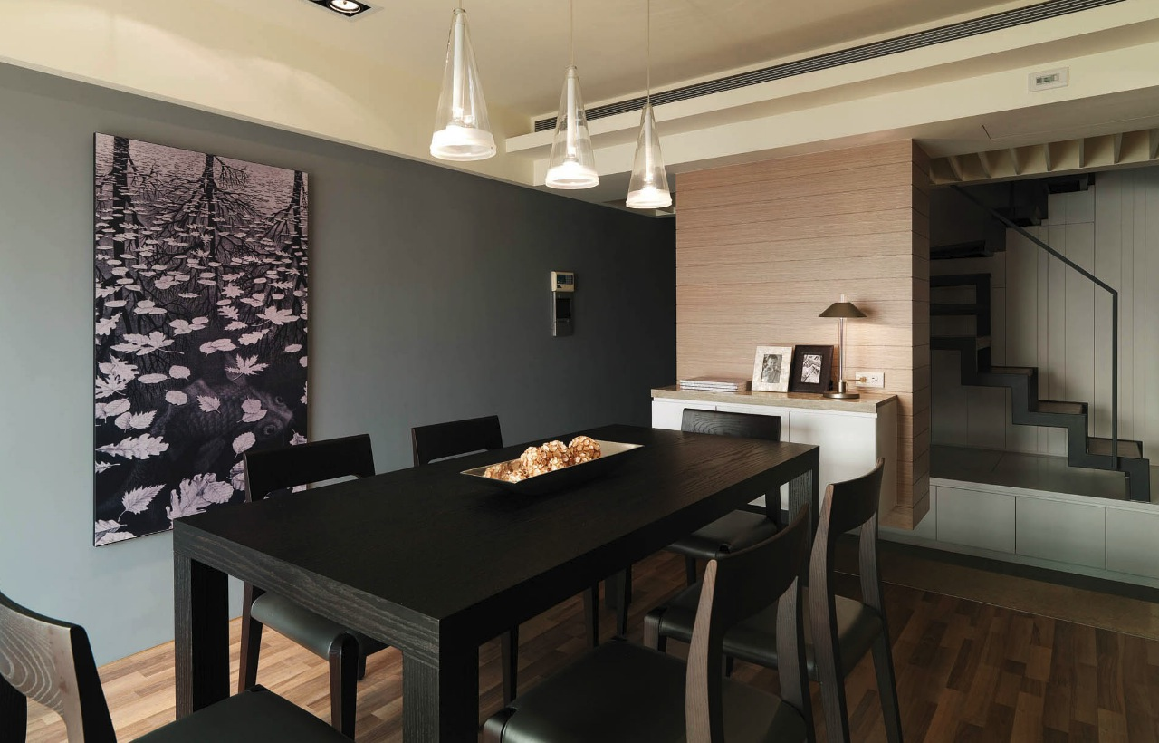 Modern semi minimilist design Images of modern dining rooms