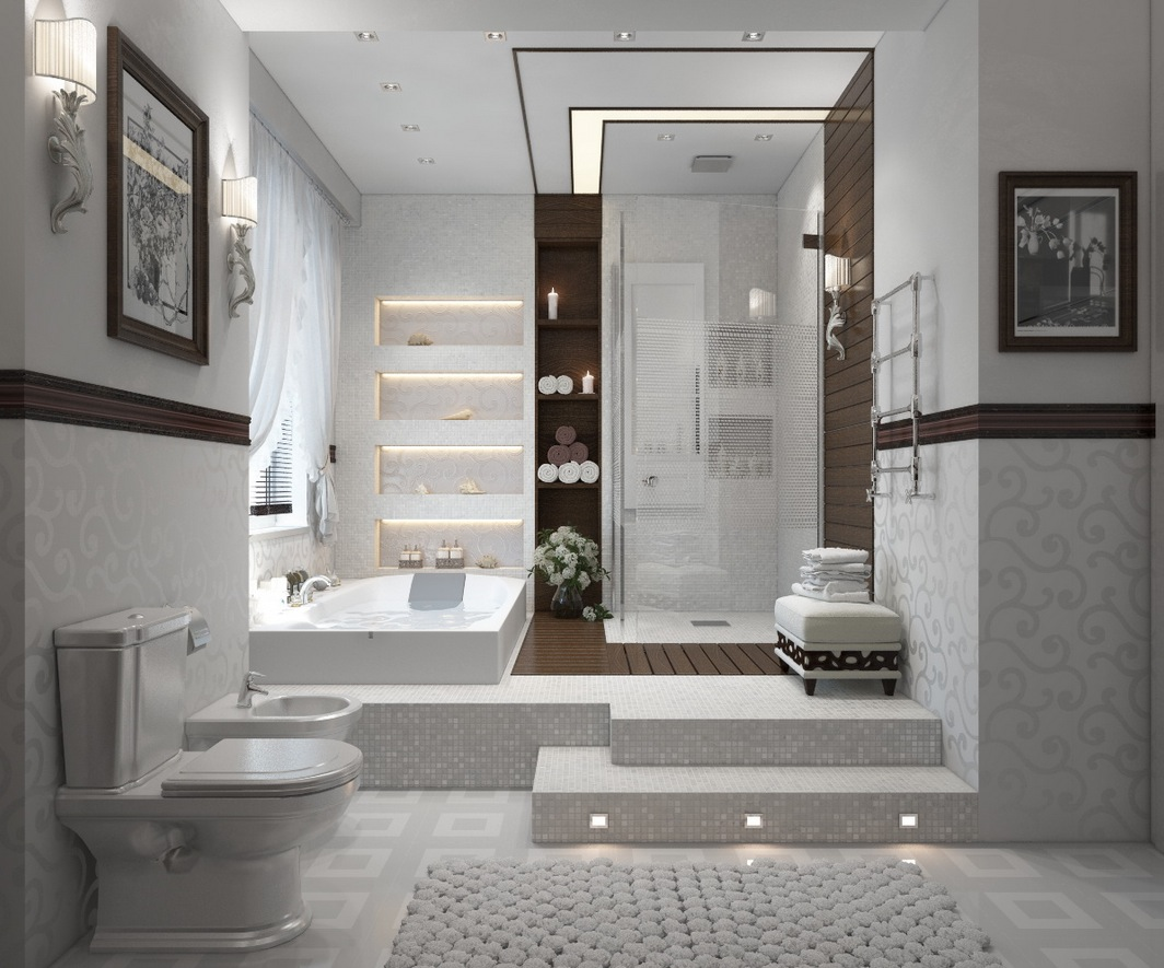 Contemporary Bathrooms Images modern bathrooms with spa-like appeal