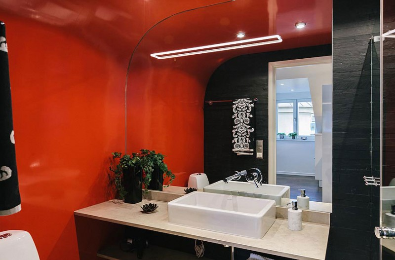 Odenplan 39 s stunning modern stockholm apartment for Asian style bathroom designs