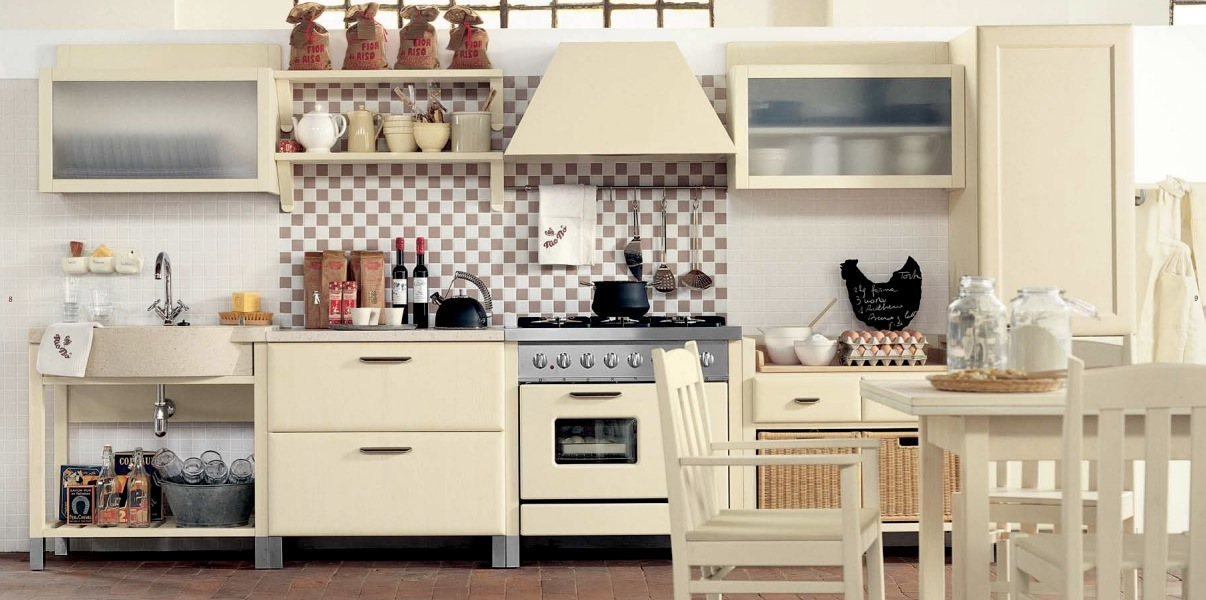 Minacciolo country kitchens with italian style for Country kitchen home plans