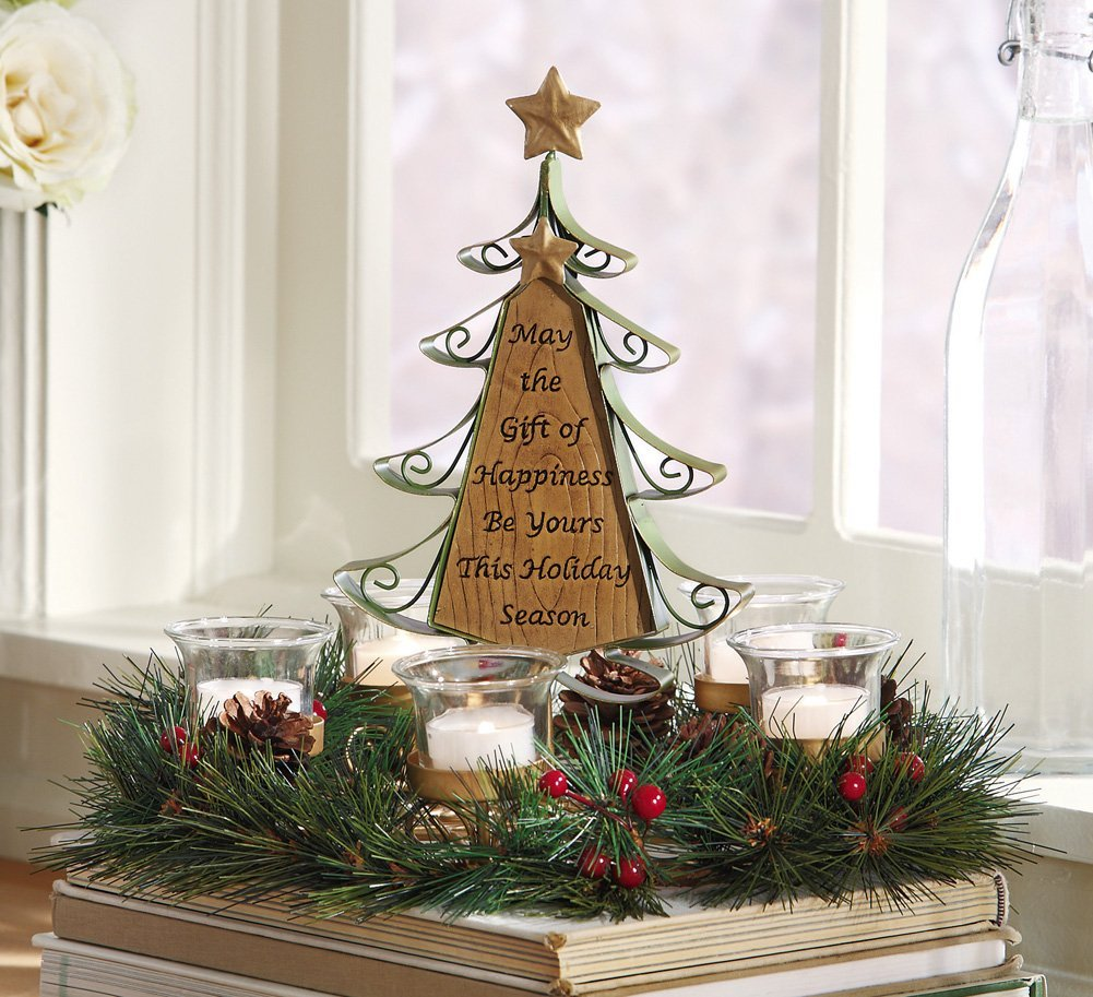 Christmas Tree Simple Decorating Ideas: Christmas Centerpieces