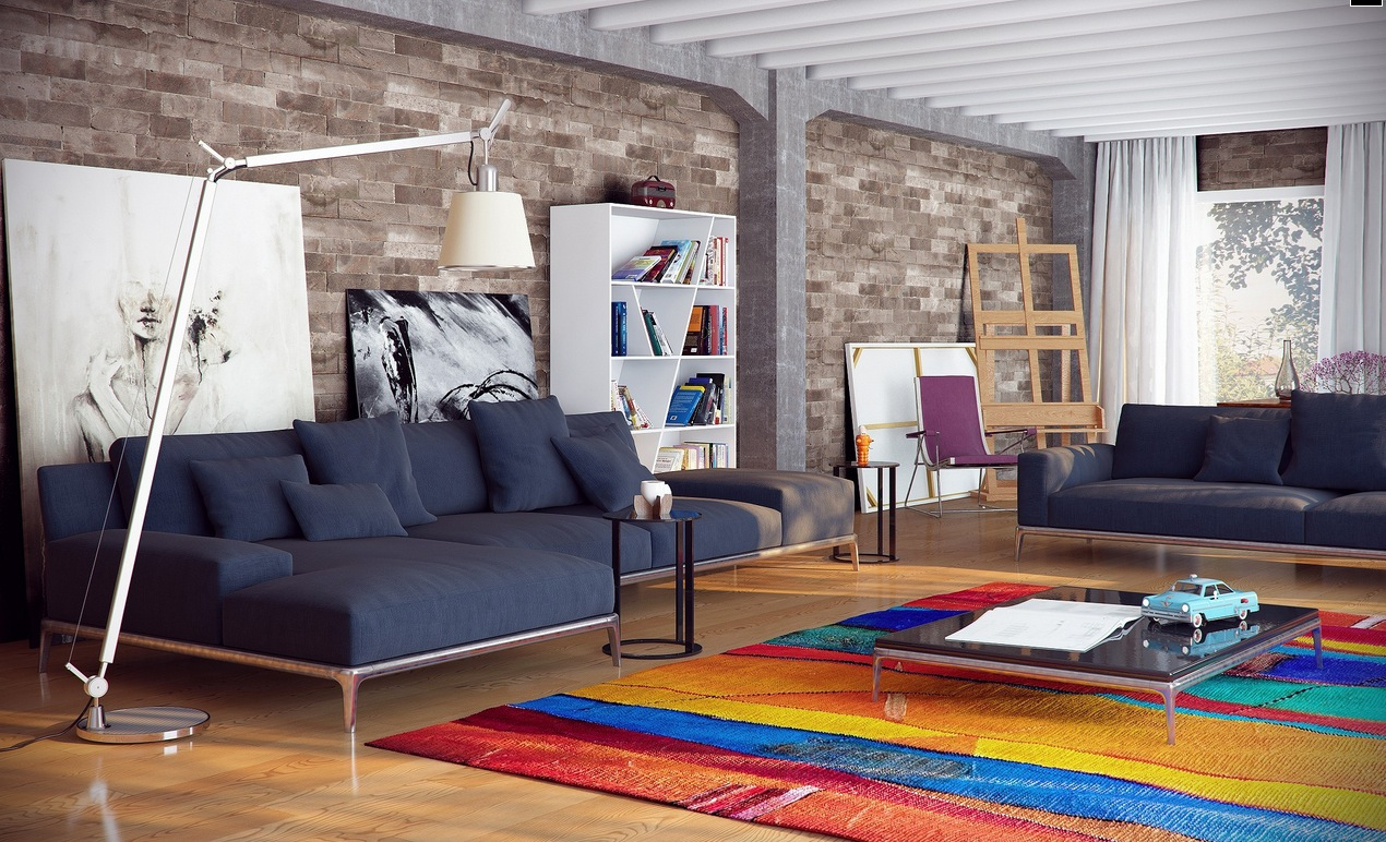 City loft decor ideas interior design ideas Loft living room ideas