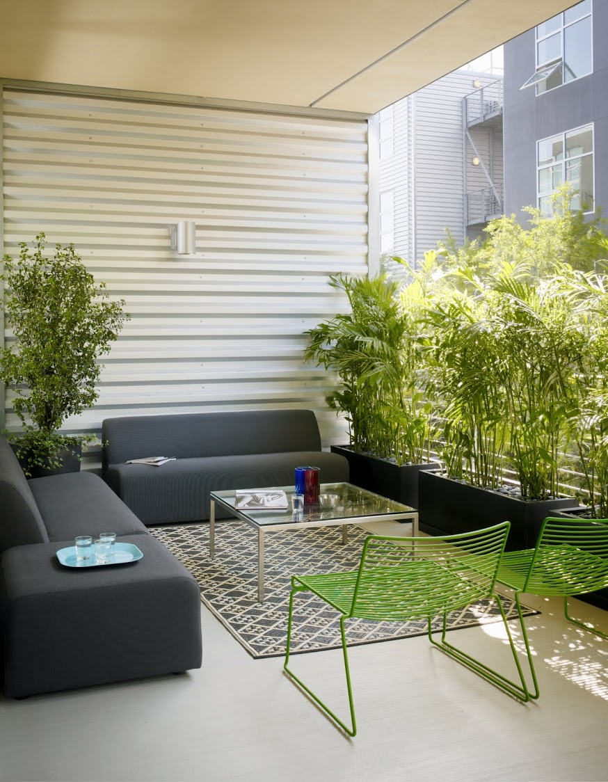 City terrace decor ideas interior design ideas for Decoration fenetre ikea