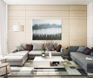 light filled contemporary living rooms - Home Design Ideas Living Room