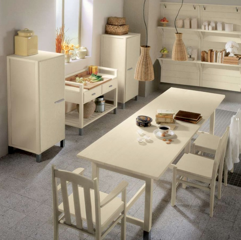 Country Kitchen Look: Minacciolo Country Kitchens With Italian Style