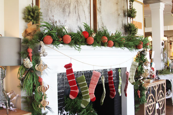 Christmas Mantel Decorations and Ideas Magic Brush Christmas Decor Ideas Christmas Decorations with Glitter Dear Head and Christmas Tartan & Buffalo Check What others are saying