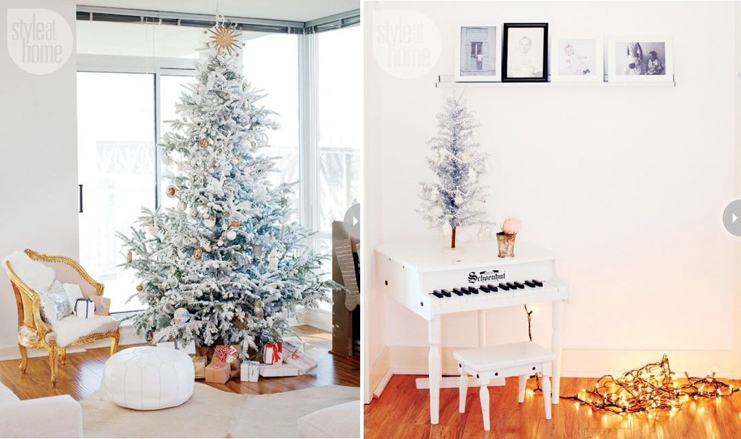 indoor decor ways to make your home festive during the holidays - Indoor Decorative Christmas Trees