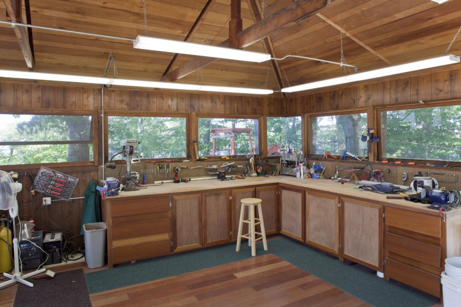 Frank Lloyd Wright Workshop Interior Design Ideas