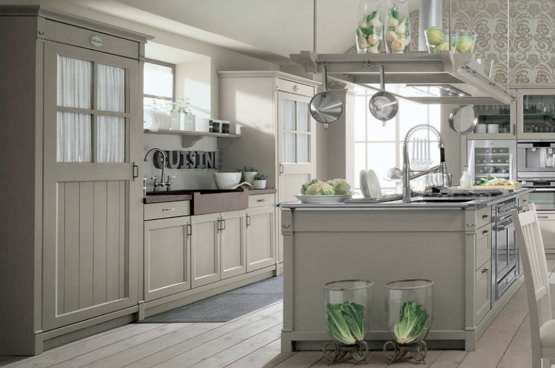french country kitchen | interior design ideas.