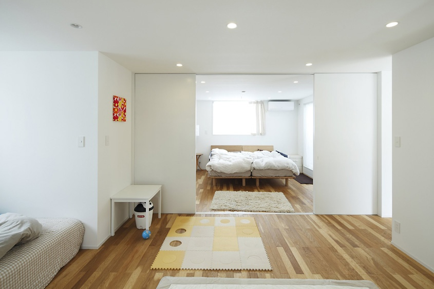 Japanese style interior design for Japanese bedroom design