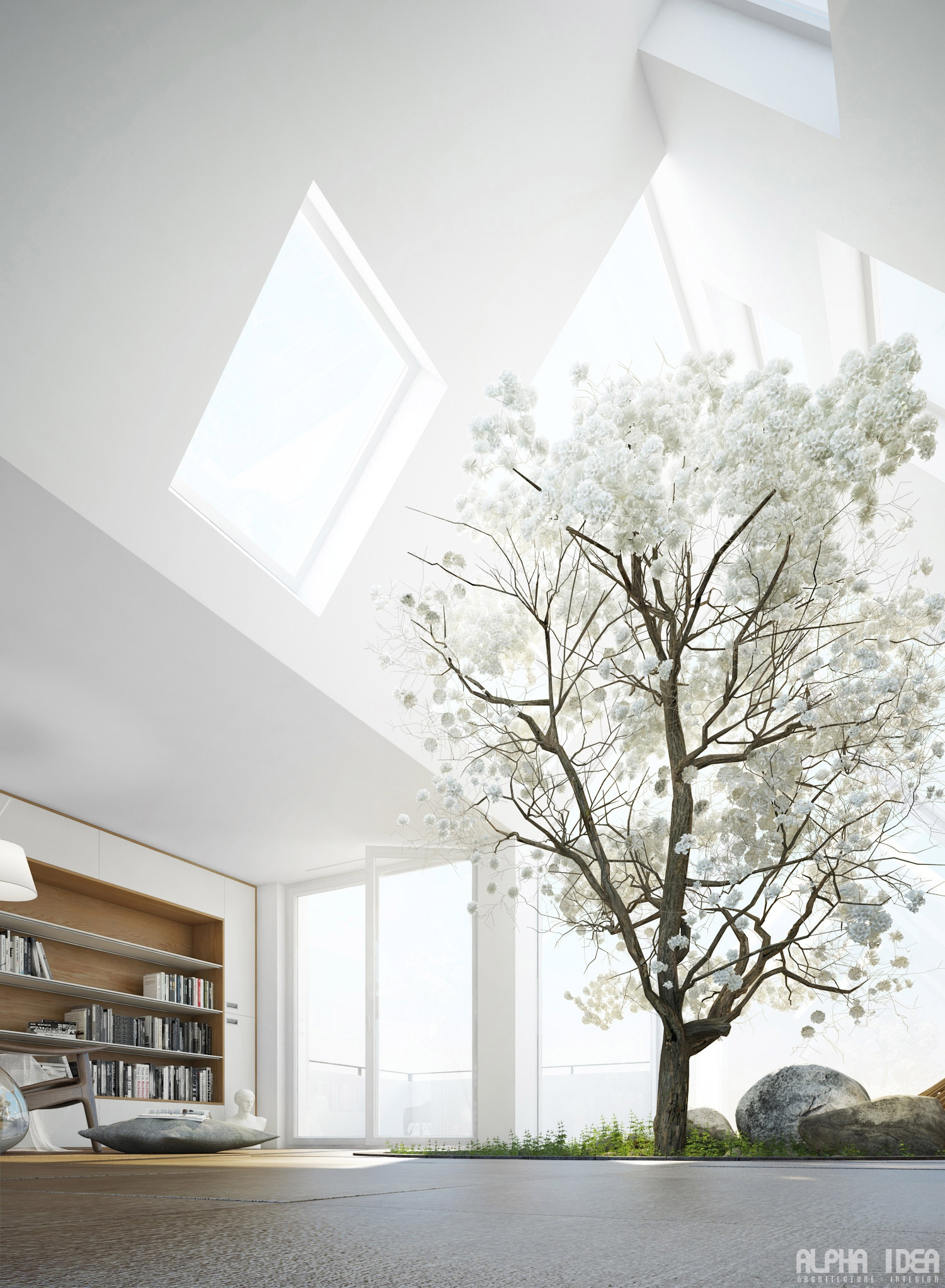 Skylight Designs Living Rooms With Skylights