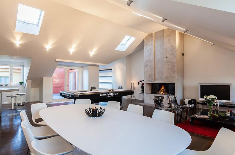 Modern Dining Room - Odenplan s stunning modern stockholm apartment