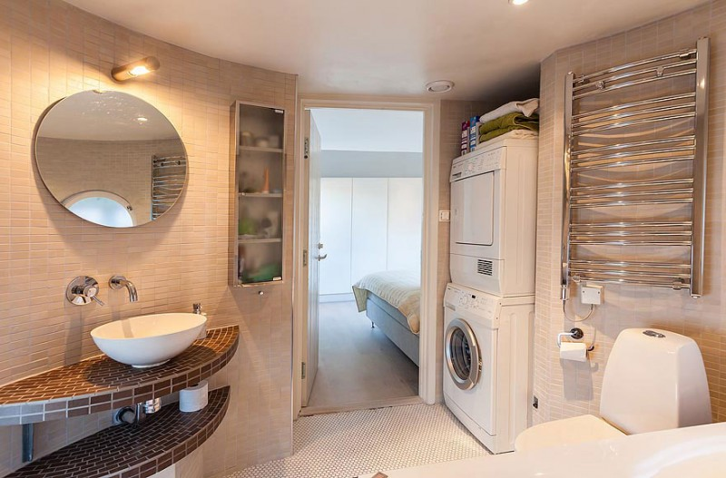 Modern Laundry Room - Odenplan s stunning modern stockholm apartment