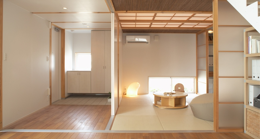 Japanese style interior design for Japan minimalist home design