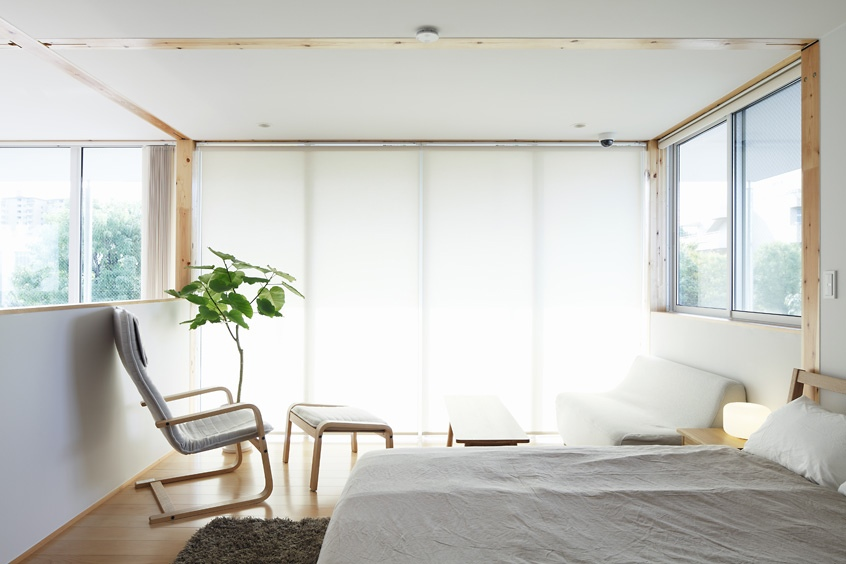 Japanese style interior design for Japanese minimalist small house design
