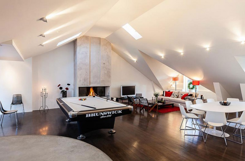 Open Living Space Modern - Odenplan s stunning modern stockholm apartment