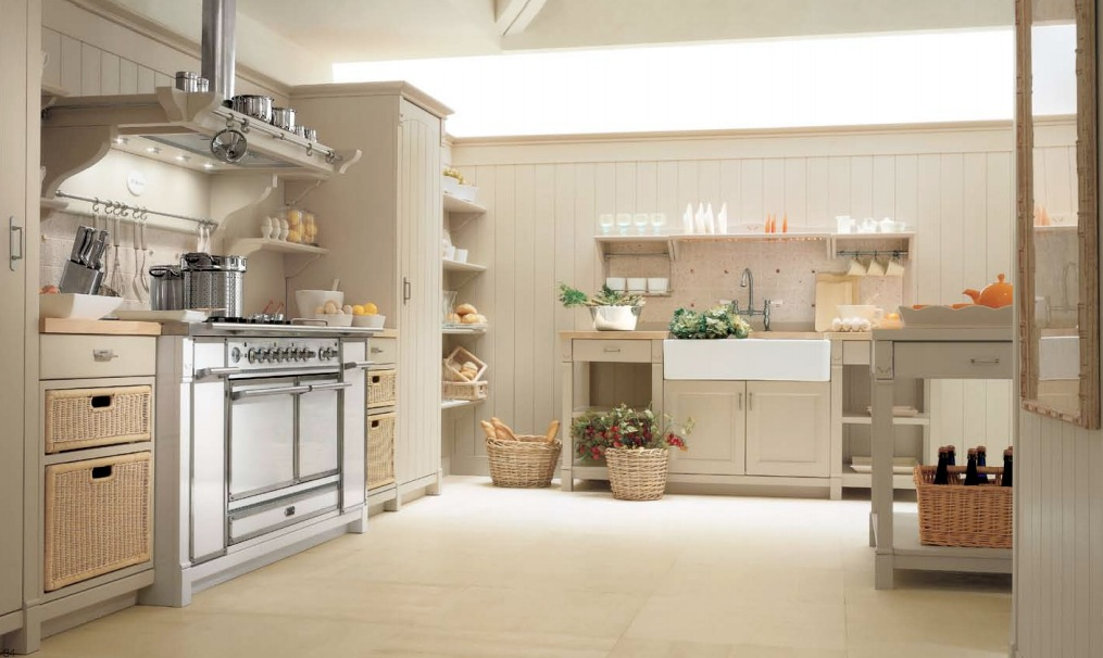 Minacciolo country kitchens with italian style for Modern country kitchen designs