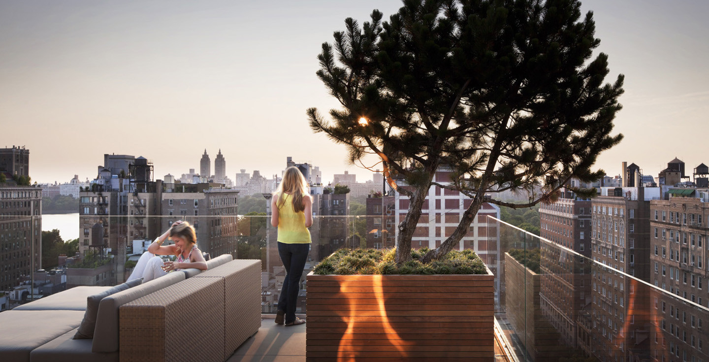 Rooftop Terrace Interior Design Ideas