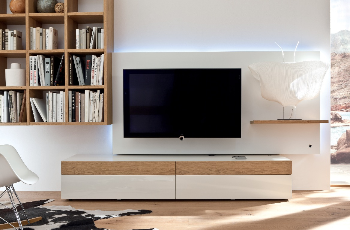 Modern Living Room TV Wall Unit 1167 x 766