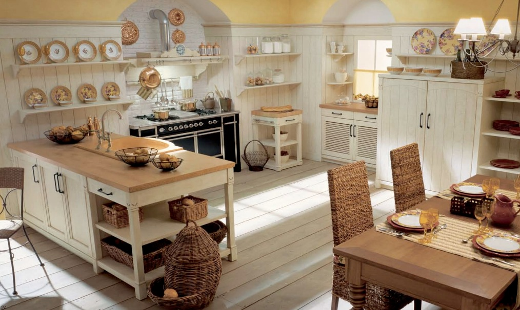 & Minacciolo Country Kitchens with Italian Style