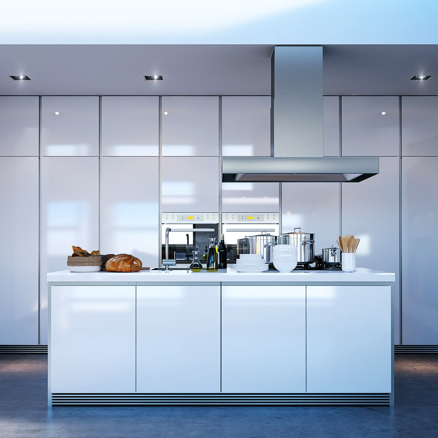 20 kitchen island designs for Modern kitchen units