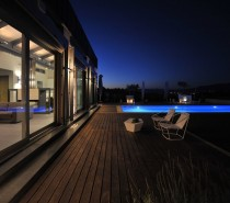 exterior modern swimming pool