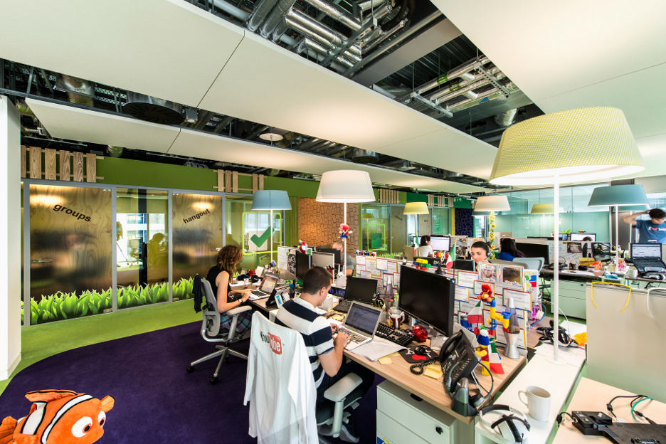 Google office interior 4 interior design ideas for Office design google