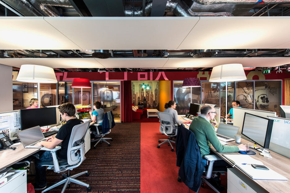 Google 39 s new office in dublin for Office design google