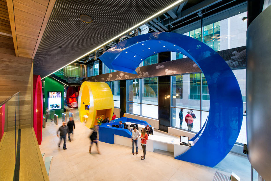 Googles New Office In Dublin