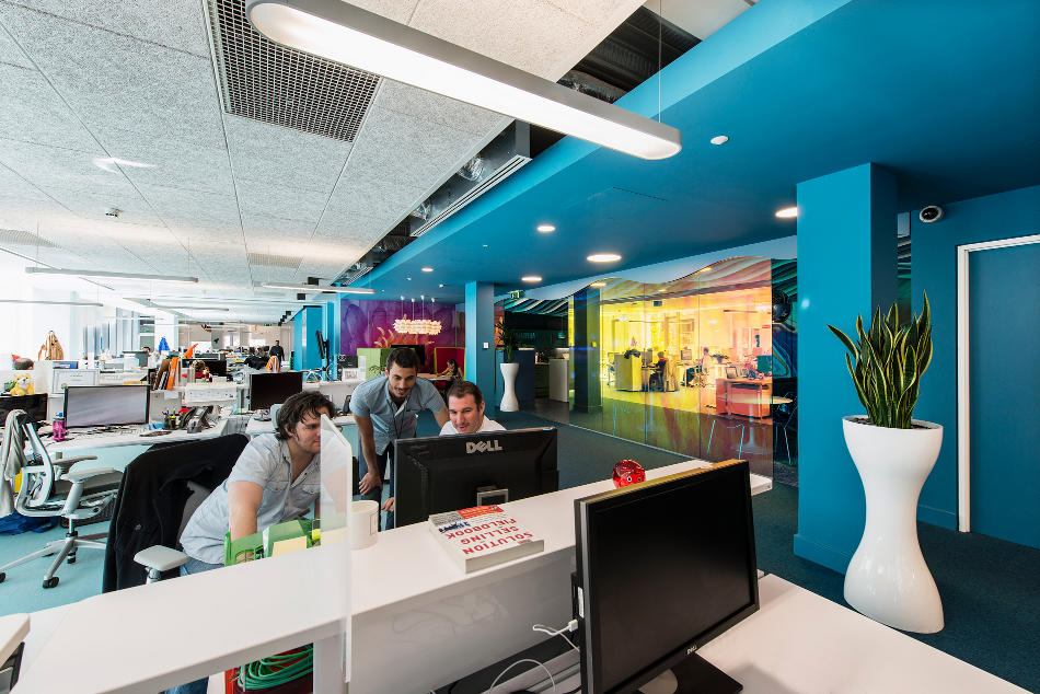 Google office snapshots 2 interior design ideas for Office design google