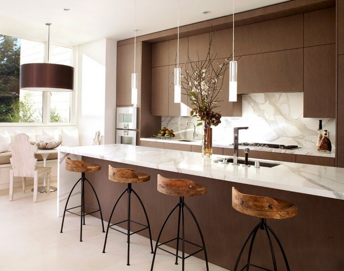 marble rustic modern kitchen