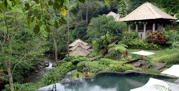 Bali 39 s tropical paradise maya ubud resort for Garden pool villa ubud