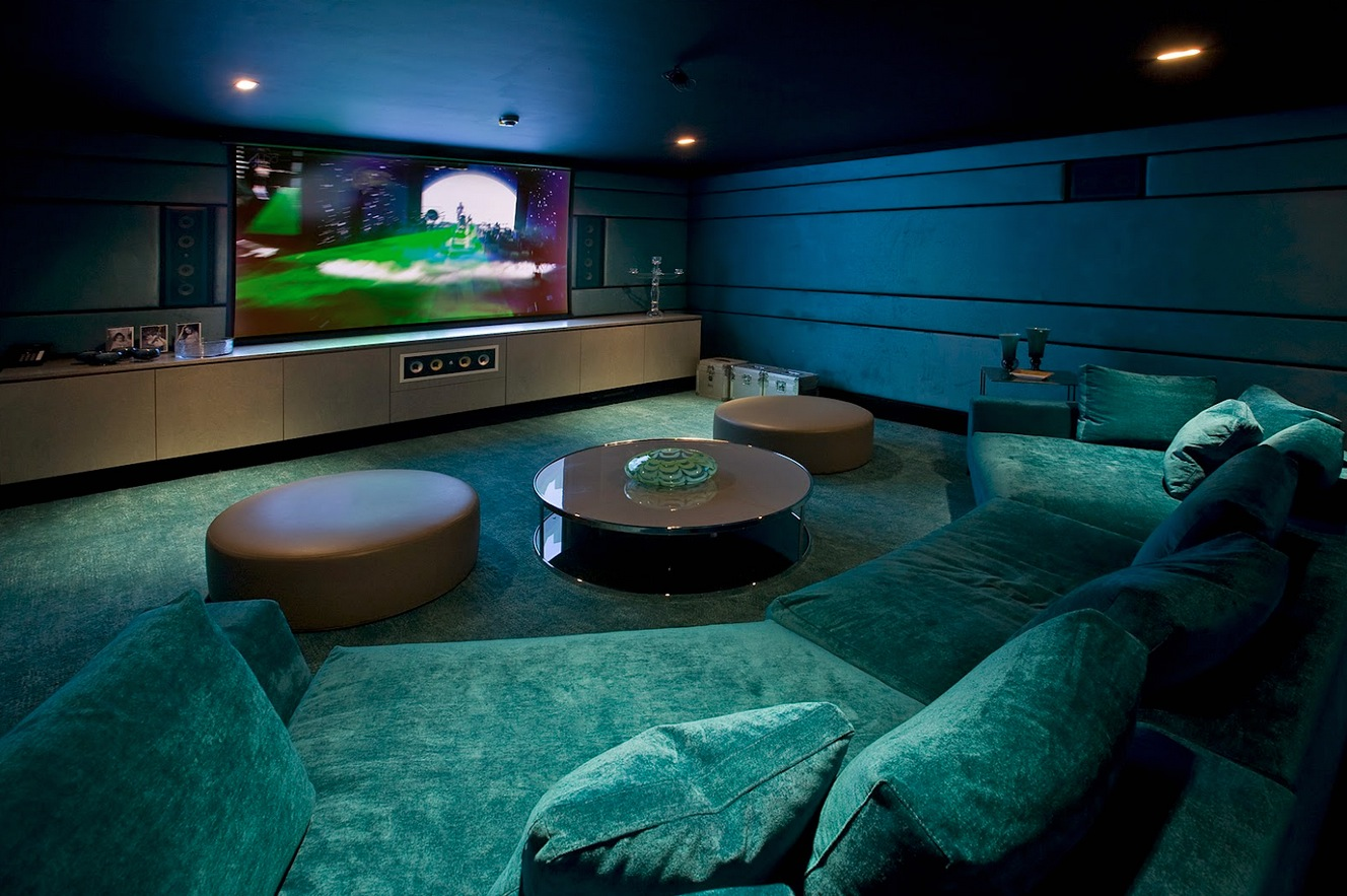 30 basement remodeling ideas inspiration for Furniture for media room