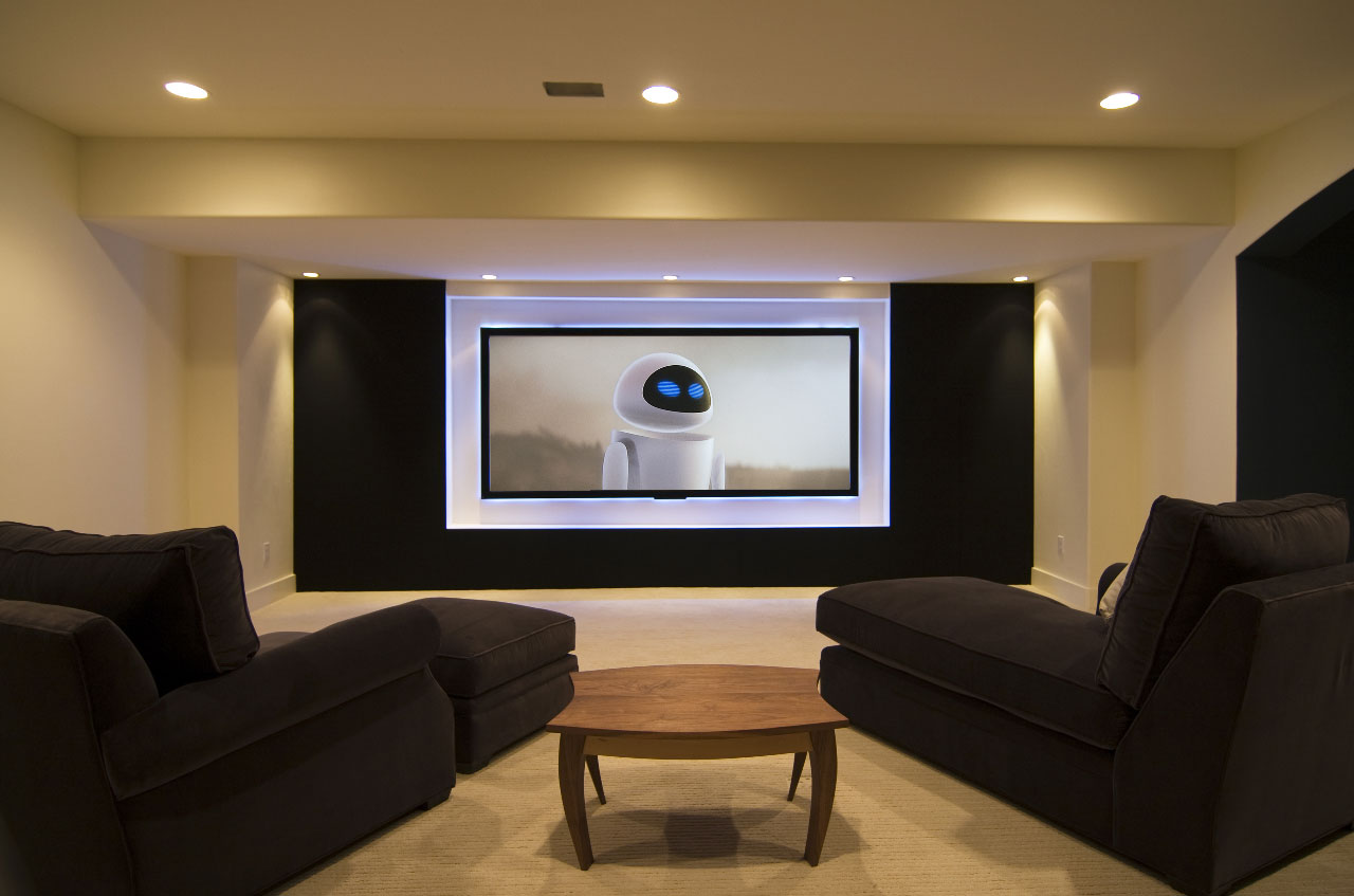 Basement entertainment room - 30 Basement Remodeling Ideas Inspiration