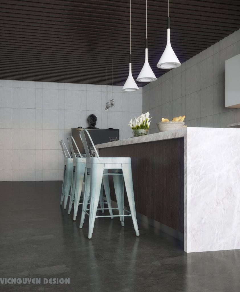 Modern Kitchen With Island Bar - 12 modern eat in kitchen designs