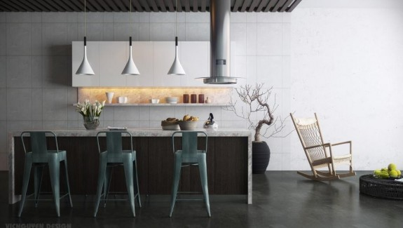 12 Modern Eat-In Kitchen Designs