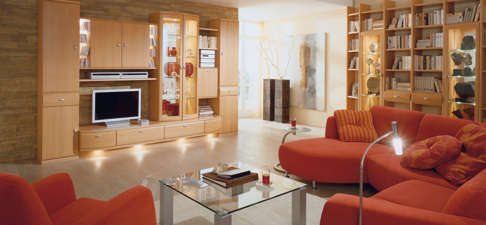Living Room Ideas Orange Sofa modern orange sofa | interior design ideas.