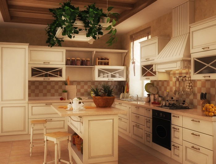 old world kitchen white 2