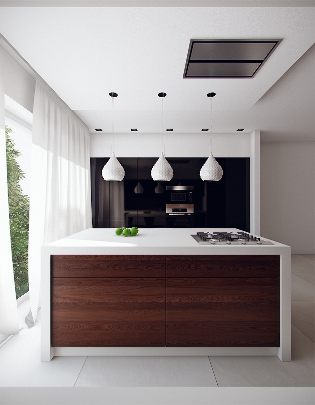 Modern Eat In Kitchen Designs