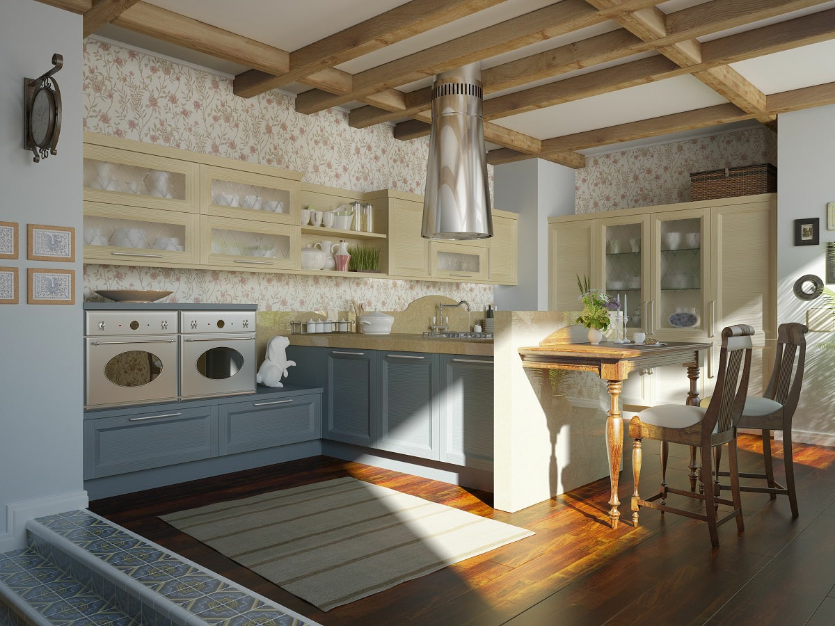 11 luxurious traditional kitchens for Pictures of new kitchens designs