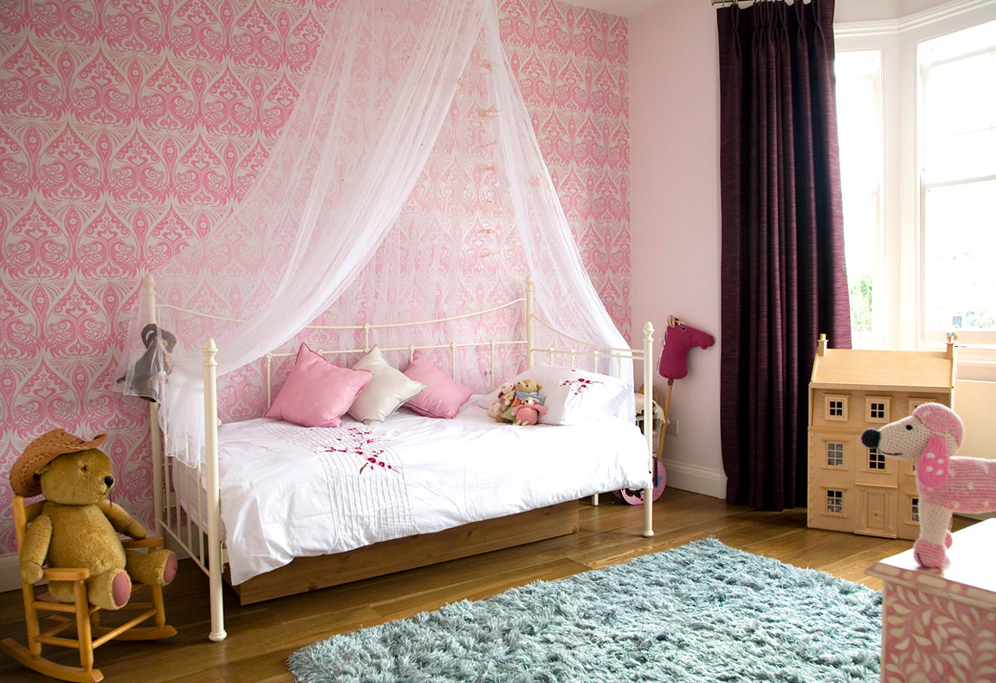 2 little girls bedroom 5 interior design ideas - Modern girls bedroom design ...