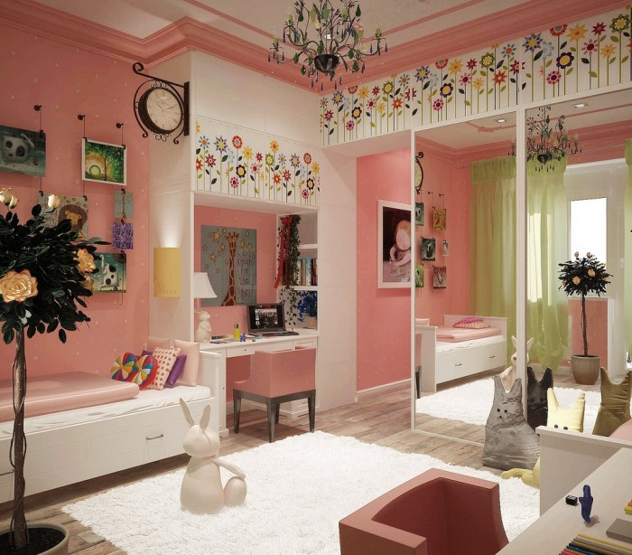 Bedroom Designs 2013 100 girls' room designs: tip & pictures