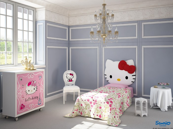 Little Kitty has been a favorite character for little and big girls rooms for years and doesn't appear to be going anywhere.