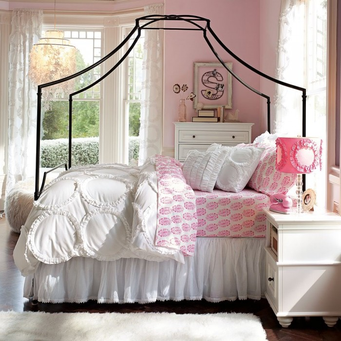 Teenage Bedroom Wall Designs 100 girls' room designs: tip & pictures