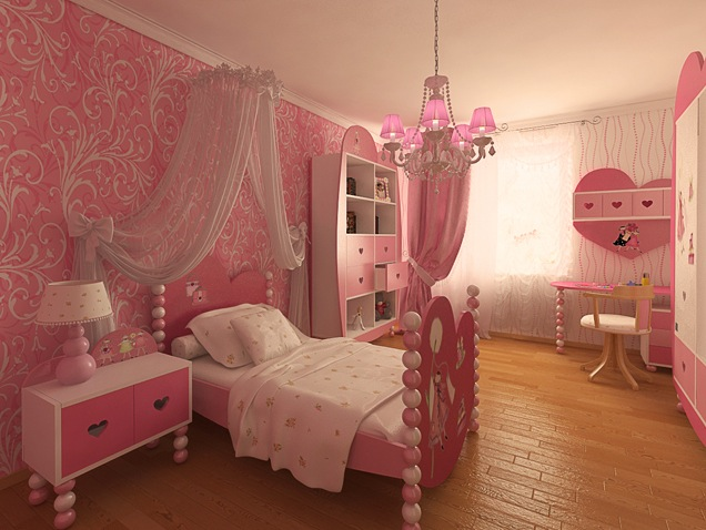 Pink is a perennial favorite of big and little girls around the world. This preteen girls room boasts this bright color in a big way.
