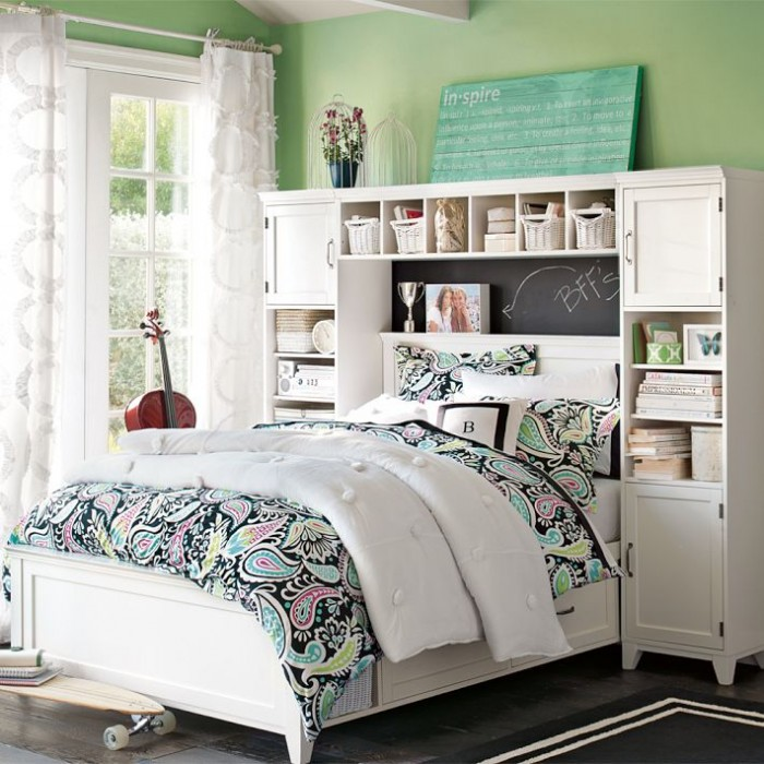 teenage girls bedroom interior design