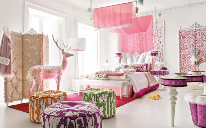decorating and girls bedroom curtains 45 - Girls Bedroom Decorating Ideas