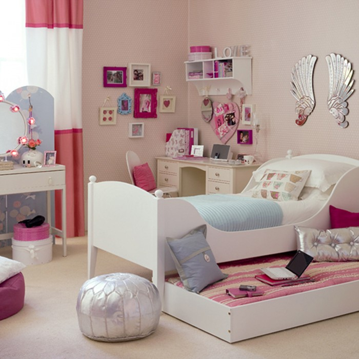 Decorating Ideas Bedrooms 100 girls' room designs: tip & pictures