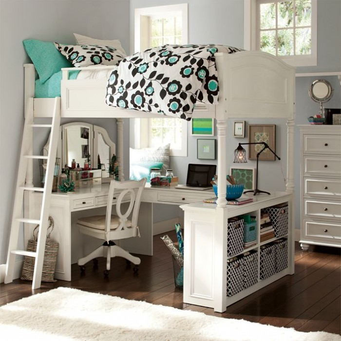 Bed For Teenage Girls 100 girls' room designs: tip & pictures